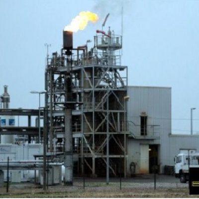 Разработка установки очистки попутного газа от сероводорода в модульном исполнении по технологии Sulferox