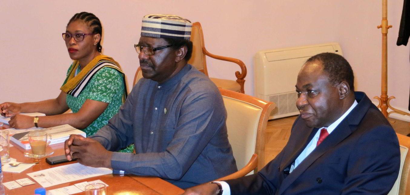 Встреча с послом Федеративной Республики Нигерия