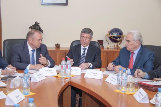 Встреча с Президентом ТПП РФ