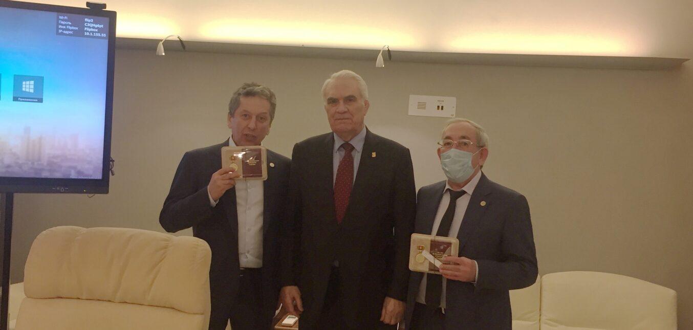 Встреча представителей СНГПР с руководством ПАО «Татнефть» в Казани и в Альметьевске