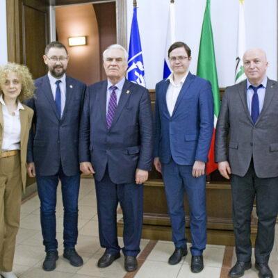 Посещение Казанского (Приволжского) федерального университета