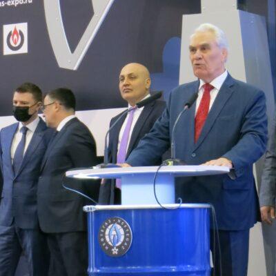 Открытие выставки НЕФТЕГАЗ 2021